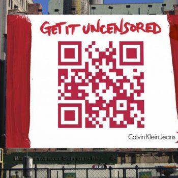 Calvin Klein QR Code